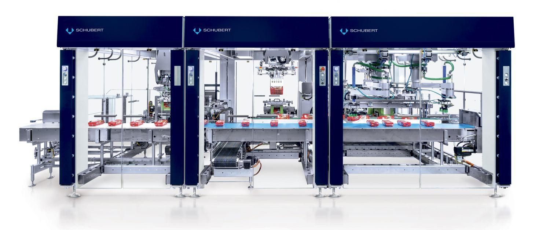 Modulare TLM-Verpackungsmaschinen von Schubert