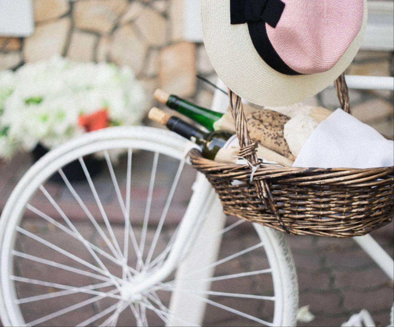 Detail eines Fahrrads. Thema: Strategien im Umweltschutz
