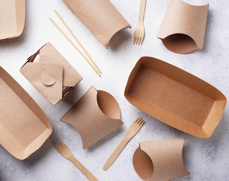 Nachhaltige Verpackungen aus Karton für Fast Food