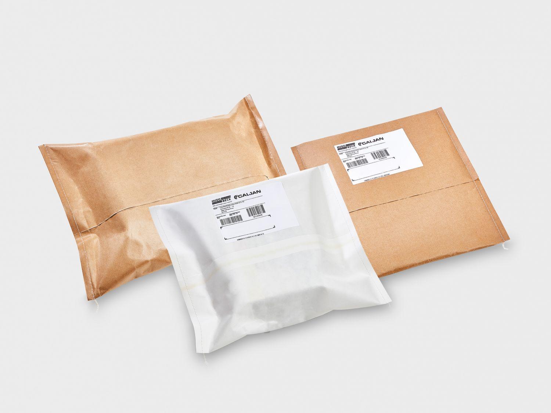 Verschiedene Papierverpackungen