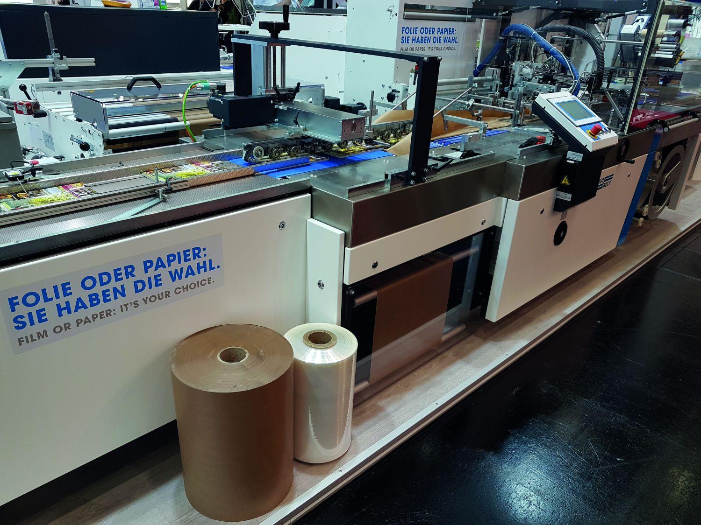 Die Schlauchbeutelmaschine paper X hybrid advance ist zu sehen